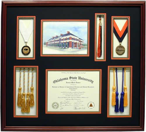Custom Diploma Examples - Maxine\'s Custom Frames